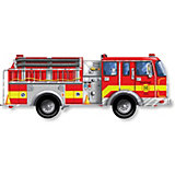 Напольный пазл Melissa&Doug Пожарная машина 24 элемента