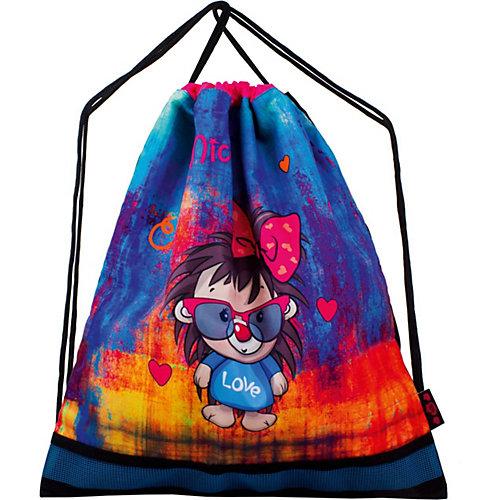 Ранец DeLune 7mini, мешок, жесткий пенал, мишка, ленточка - разноцветный от DeLune