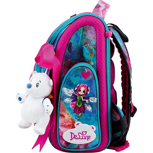 Ранец DeLune, мешок, мишка, ленточка - бирюзовый от DeLune