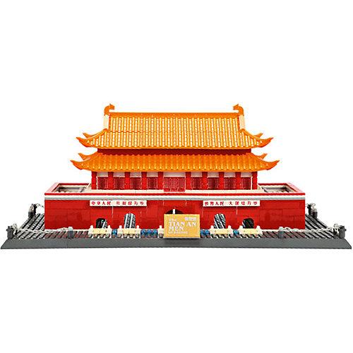 """Конструктор Wange """"Шедевры мировой архитектуры. Врата Небесного Спокойствия"""", 758 деталей от Wange"""