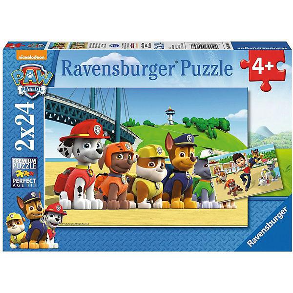 Ihr Geschenk 2er Set Puzzle Je 24 Teile 26x18 Cm Paw
