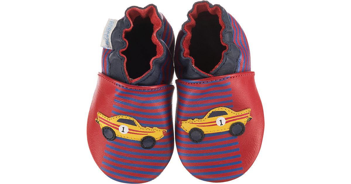 Krabbelschuhe RACE CAR , Rennauto mehrfarbig Gr. 17/18 Jungen Baby