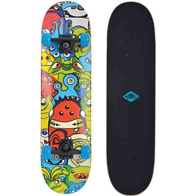 "Skateboard Slider 31"" Monsters"