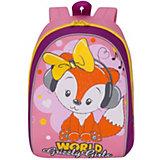 Рюкзак детский Grizzly, розовый - лиловый