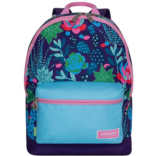 Рюкзак молодежный Grizzly, кактусы от Grizzly