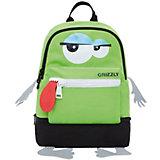 Рюкзак детский Grizzly, салатовый