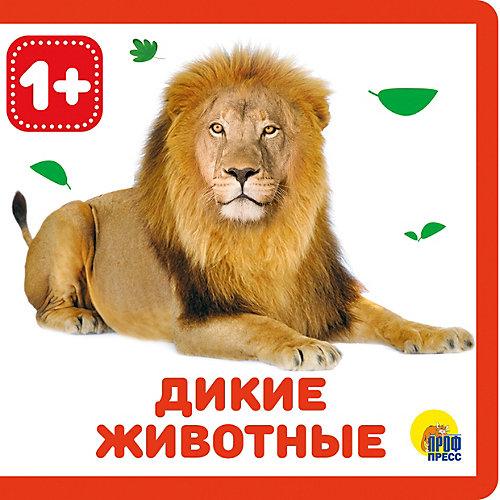 """Книжка на пене """"Дикие животные"""" от Проф-Пресс"""