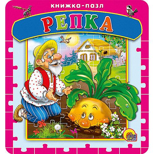 """Книга с пазлами """"Репка"""" от Проф-Пресс"""