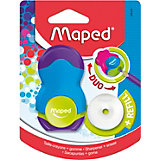 Канцелярский набор 2в1 Maped Loopy с точилкой и ластиком