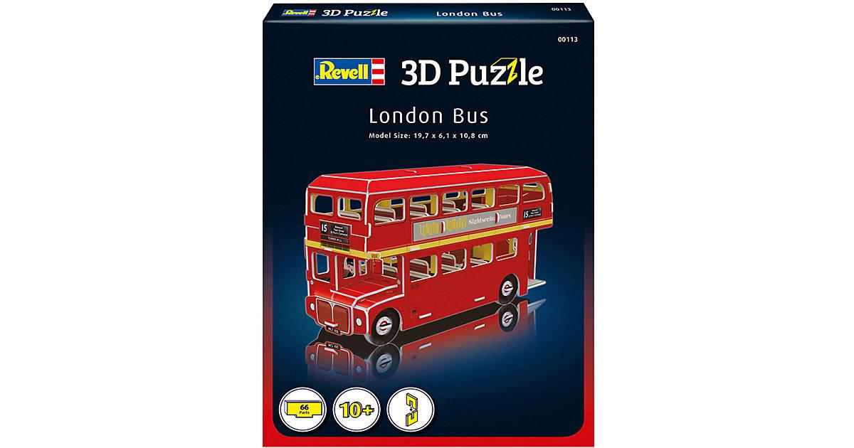3D-Puzzle London Bus, 66 Teile