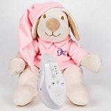 Игрушка для сна Собачка DrЁma BabyDou с белым и розовым шумом, розовый