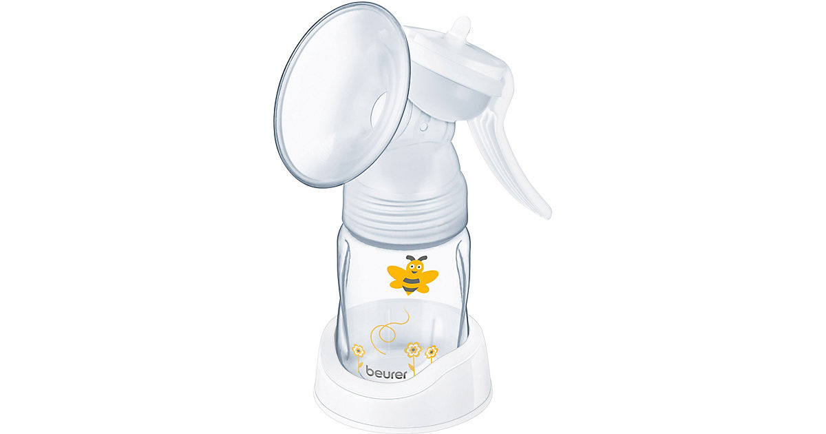 Handmilchpumpe BY 15 farblos