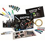"""Набор Giotto Art Lab """"Безграничный чёрный"""" , 23 предмета"""