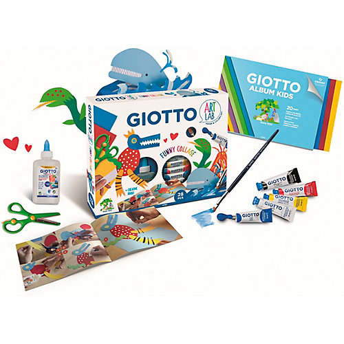 Набор весёлый коллаж Giotto Art Lab, 28 предметов от Giotto