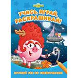 Развивающая книга «Смешарики. Круглый год со Смешариками»