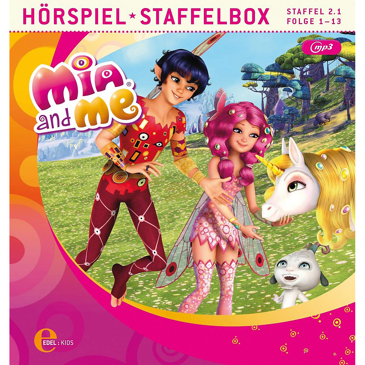cd mia and me staffelbox 21 mp3cd miame  mytoys