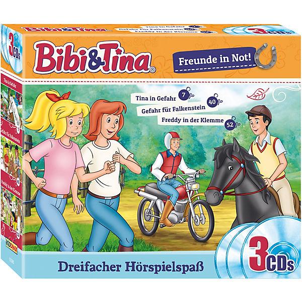 cd bibi und tina  freunde in not 3 cds folgen 74052