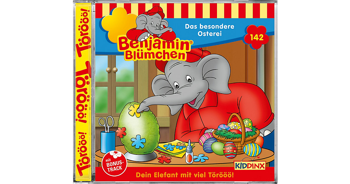 CD Benjamin Blümchen 142 - Das besondere Osterei Hörbuch