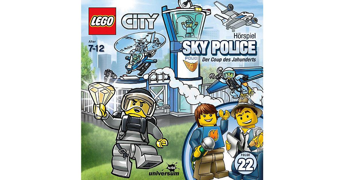 CD LEGO City 22 - Sky Police Hörbuch
