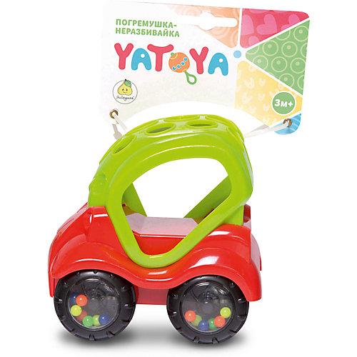 Машинка-неразбивайка ЯиГрушка Yatoya, зелёно-красная от ЯиГрушка
