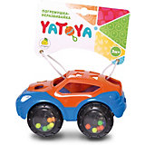 Машинка-неразбивайка ЯиГрушка Yatoya, оранжево-синяя