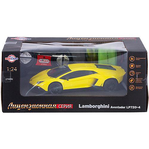Wincars Lamborghini Aventador LP720-4 на радиоуправлении, желтый от Wincars