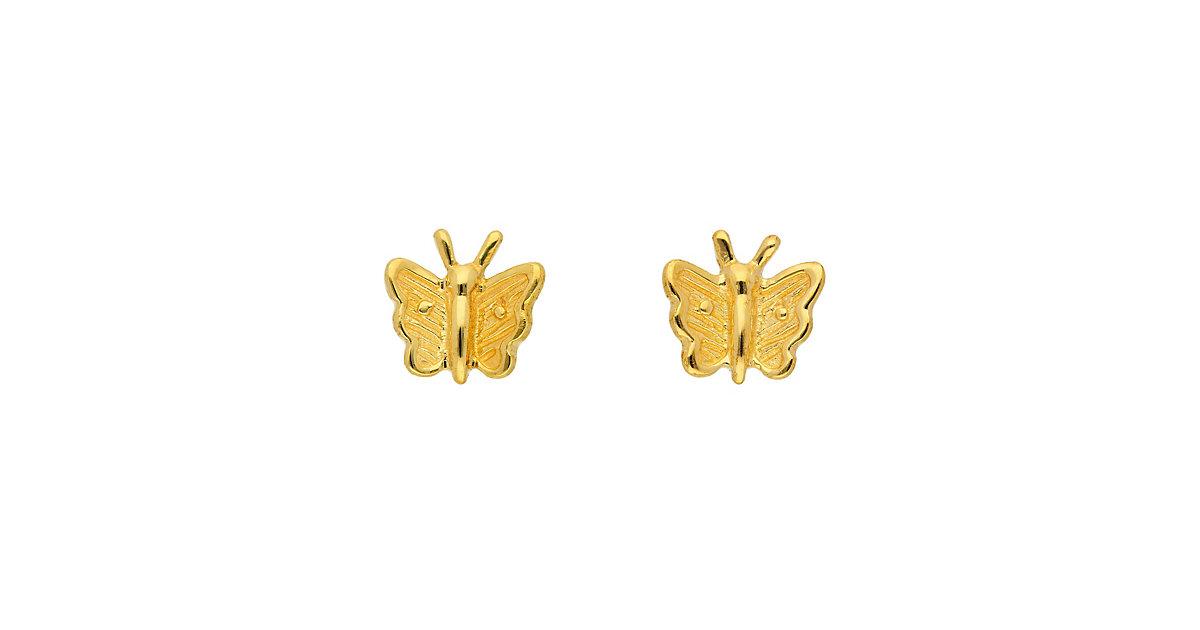 Adelia´s 1 Paar Gold Ohrringe Ohrstecker Schmetterling 8 k 333 Gelbgold Ohrhänger | Schmuck > Ohrschmuck & Ohrringe > Ohrstecker | Gold | Adelia's