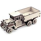 Деревянный конструктор Армия России Советский грузовик ЗИС-5в, 49 деталей