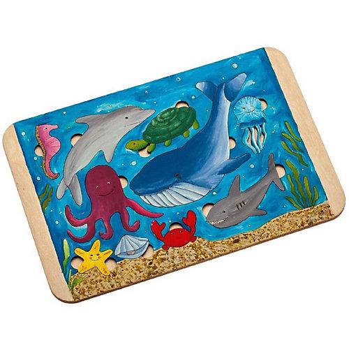 Пазл-раскраска Bradex «Морские жители»