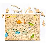 Пазл-раскраска Bradex «Динозавры»
