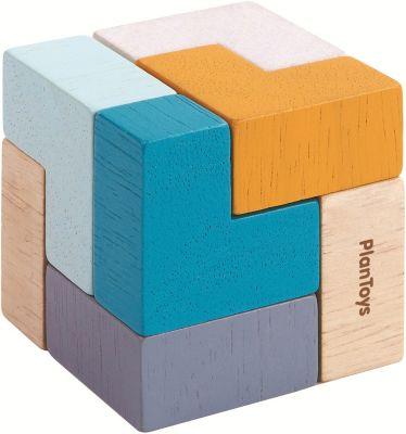 "Головоломка Plan Toys ""3D пазл – Куб"""