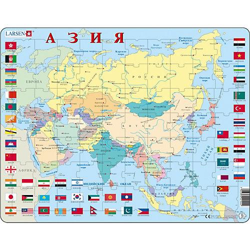 """Пазл Larsen """"Азия"""", на русском языке от Larsen"""