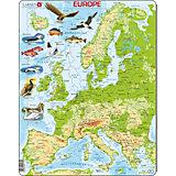 "Пазл Larsen ""Европа"", на английском языке"