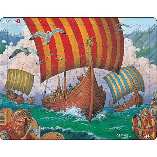 """Пазл Larsen """"Корабли викингов"""" от Larsen"""