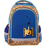 Рюкзак Gulliver  с пикси-дотами, синий