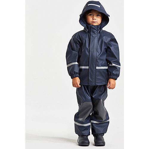 Комплект Didriksons Boardman: куртка и полукомбинезон - синий