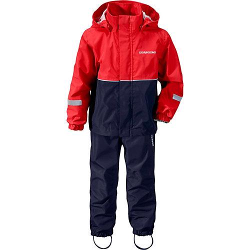 Комплект Didriksons Rusk: куртка и брюки - красный от DIDRIKSONS1913
