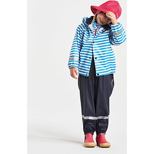 Комплект Didriksons Slaskeman Printed: куртка и полукомбинезон - синий от DIDRIKSONS1913