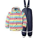 Комплект Didriksons Slaskeman Printed: куртка и полукомбинезон