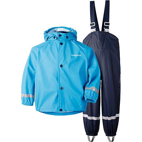 Комплект Didriksons Slaskeman: куртка и полукомбинезон - голубой от DIDRIKSONS1913