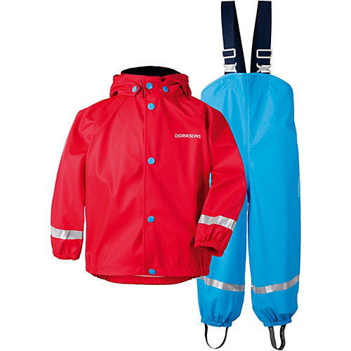 Комплект Didriksons Slaskeman: куртка и полукомбинезон - красный от DIDRIKSONS1913