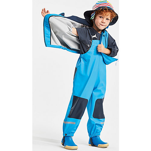 Комплект Didriksons Stormman: куртка и полукомбинезон - голубой от DIDRIKSONS1913
