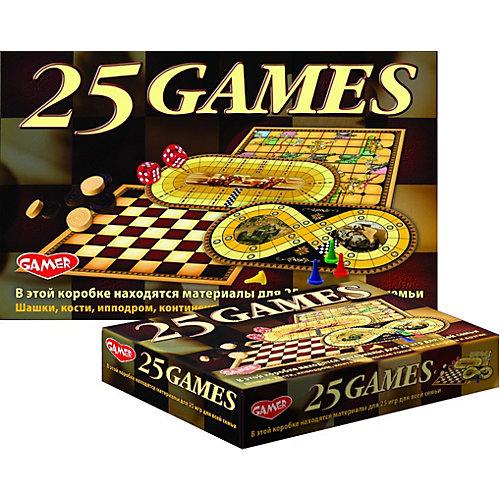 Настольная игра Dream Makers «25 игр для всей семьи» от Dream Makers