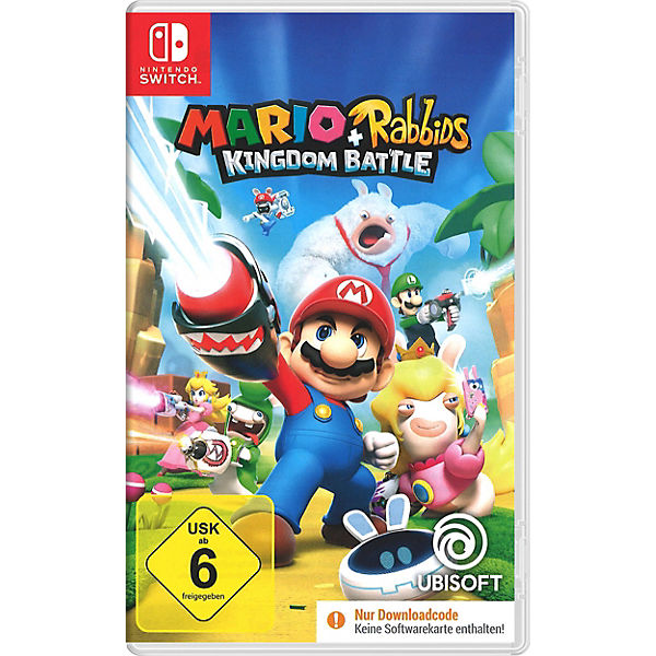 Nintendo Switch Mario & Rabbits Kingdom Battle