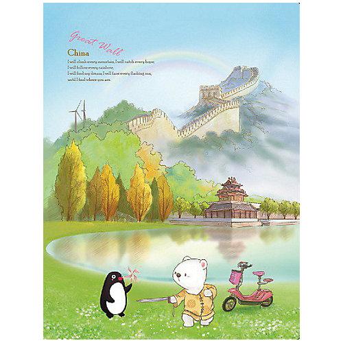 """Папка с 20 файлами Comix Traveling """"Китай"""" от Comix"""