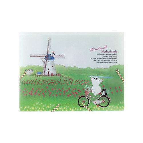 "Папка на резинках Comix Traveling ""Нидерланды"" от Comix"