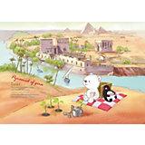 "Папка на резинках Comix Traveling ""Египет"""