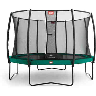 Trampolin Champion Green 380 + Sicherheitsnetz Deluxe