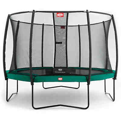 Trampolin Champion Green 330 + Sicherheitsnetz Deluxe