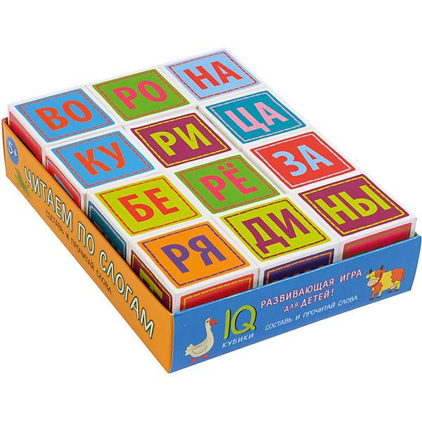 "IQ Кубики ""Читаем по слогам"""